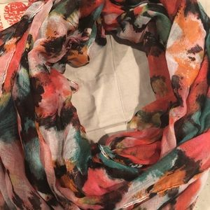 No Boundaries Accessories - Floral Infinity Scarf